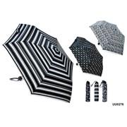 Ball Handle Black & White Umbrella (UU0276)