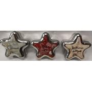 Baltus Star Shaped Candle Fragrance Tin Asst (218201)