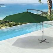 Barbados Cantilever Parasol - 3m Round - Green