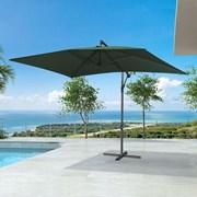 Barbados Cantilever Parasol - 3m x 2m Rectangular - Green