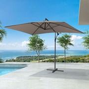 Barbados Cantilever Parasol - 3m x 2m Rectangular - Taupe