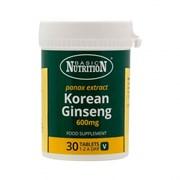 Basic Nutrition Korean Ginseng 1200mg 30s (BNKG)