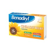 Benadryl One A Day 7s (75463)