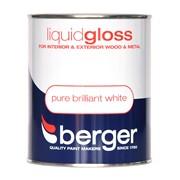 Berger Liquid Gloss Brilliant White 750ml (5089572)