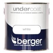 Berger Undercoat Brilliant White 2.5lt (5026299)