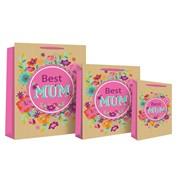 Best Mum Kraft Bag P/fume (16836-9)