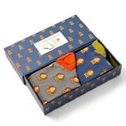 Mr Heron Owls Socks Box (BH005)