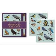 Birds Notecard & Pen Set (RFS13322)