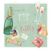 Birthday Celebrations B/day Card (II1116W)
