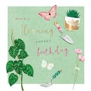 Birthday In The Garden Card (II1118W)