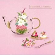 Birthday Tea B/day Card (IJ0020W)
