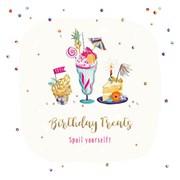 Birthday Treats Birthday Card (SFER0043)