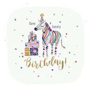 Birthday Zebra B/day Card (SFER0040)