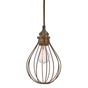 Premier Bronze Balloon Cage Light Shade (BL161356)