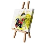 Blackberry Bee Canvas Cutie 15x20 (CCTE100)