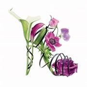 Blank Card Purple Sandal (BS77894)