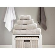 Deyongs Bliss Pima Bath Sheet Silver (206421)