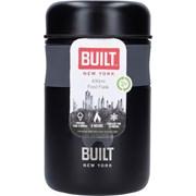 Built Food Jar Classic Black 490ml (BLTJAR490BLK)