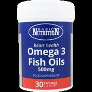 Basic Nutrition Omega 3 Fish Oil 500mg 30s (BN03)