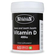 Basic Nutrition Vitamin D 400mg 60s (BNVD)