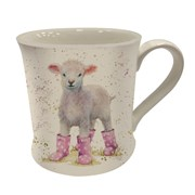 Lottie Lamb In Boots Mug (BRE0084)