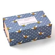 Miss Sparrow Bumble Bees Socks Box (BS003)