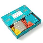 Mr Heron Bike & Spots Socks Box (BS004)