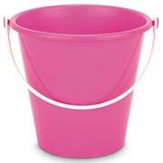 Round Plastic Bucket Bright Colours 18cm (BU1142)