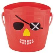 Pirate Bucket Assorted 14cm (BU1245)