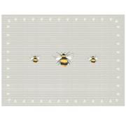 David Mason Design Busy Bees Glass Worktop Saver (FW0229A)