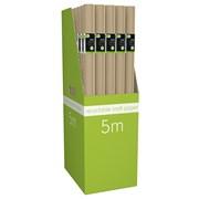 Giftmaker Kraft Roll Wrap 5mt (BWFR-2)