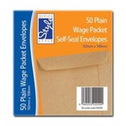 C.wages Packet Envelopes Plain 50s (STA030)
