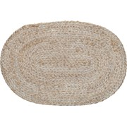 Creative Tops Ct Naturals Oval Woven Bulrush Mat White (C000353)