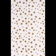 Printed Tissue Stars Gold 5 Sheet (C180)