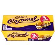 Cadbury Caramel 3 Pack Eggs 120g (971954)