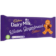 Cadbury Dairy Milk Gingerbread 120g (354241)