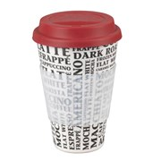 Cambridge Coffee Aroma Bamboo Travel Mug 16oz (CM045291)
