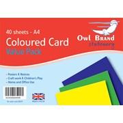 Card Asst.value 40 Sheet A4 (OBS09)