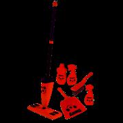 Casdon Henry Floor Cleaning Set (723)