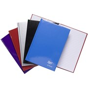 Casebound Notebook-assorted Colours-80 Sheets A5 (300400)