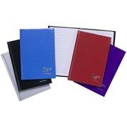 Casebound Notebook-assorted Colours-80 Sheets A6 (300410)