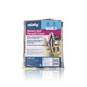 Minky Grey & Teal Rotary Cover (CC18890106)