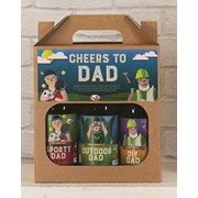 Cottage Delight Cheers To Dad 500ml 3pk (CD810038)