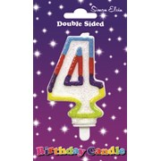 Simon Elvin Number Candle - 4 (CDL905)