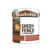 Sadolin Shed & Fence Red Cedar 5lt (5093244)