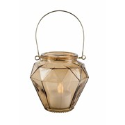 Candle Holder Gold 9.5x10.5cm (CH182072G)
