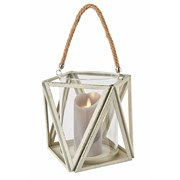White Wash Lantern Large (CH184001)