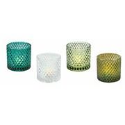 4 Assorted Tea Light Holders (CH191128)