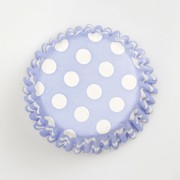 Culpitt China Blue Spot Baking Cases 54s (2211)