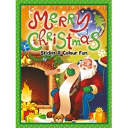 Christmas Sticker Book-lists Large (XLSB02)